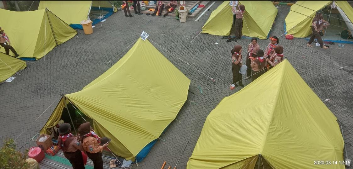 tenda putri peers 20